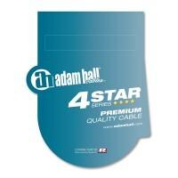 Adam Hall K4BMV0500 | Cable de Micro REAN de XLR macho a Jack 6,3 mm estéreo 5 m