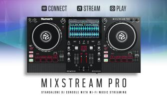 Conoce lo nuevo de Numark: Mixstream Pro, nuevo todo en uno para DJ