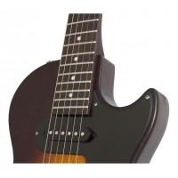 EPIPHONE ENOLVSCH1   Guitarra Eléctrica Les Paul SL Vintage Sunburst