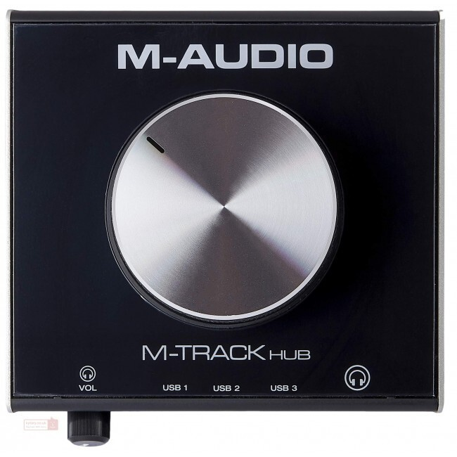 M-Audio MTRACKHUB | Interfaz USB de 3 Puertos Integrados