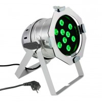 CAMEO CLP56TRI3WPS   Foco LED PAR 56 de Alto Rendimiento con 9 LEDs Tricolor Ultrabrillantes de 3V