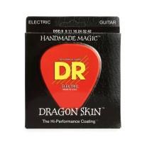 DR Strings DSE-9 | Cuerdas Para Guitarra Electrica Dragon Skin Lite K3
