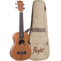 FLIGHT DUC323-MAH-MAH   Ukelele de Caoba Concierto Mah/Mah con Funda