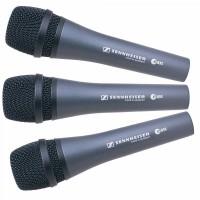 Sennheiser E835-PACKX3 | Pack de 3 Micrófonos E835