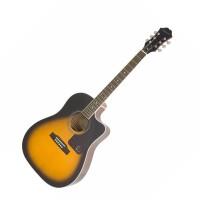 EPIPHONE EE2SVSNH3   Guitarra Electroacustica AJ-200SCE Vintage Sunburst