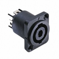 SWITCHCRAFT HPCP41F | Conector para chasis SPEAK ON 4 polos rectangular