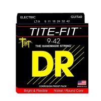 DR Strings LT-9 | Cuerdas para Guitarra Electrica Tite Fit