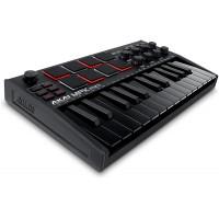 AKAI MPKMINI3B   Controlador USB Midi Portátil de 25 Teclas Negro