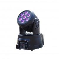 SPECTRUM LIGHTING SPIRIT80   Mini Cabezal Movil de 7 Leds de 10 Watts