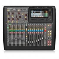 BEHRINGER X32COMPACT   Consola Digital Compacta de 32 Canales y Control Remoto iPad / iPhone