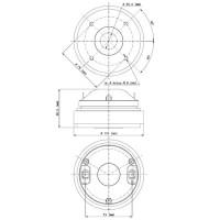 18 SOUND HD1050   Driver de compresión de 1 Pulgada